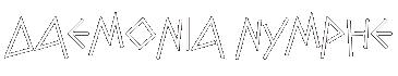 Daemonia Nymphe Logo